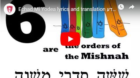 Echad Mi Yodea? (Who Knows One?)